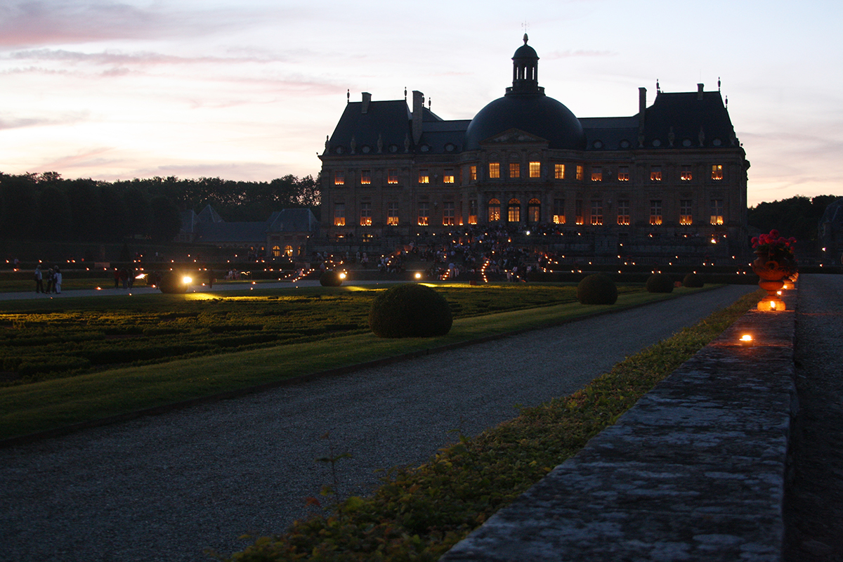 Some Enchanted Evening: A Candlelight Soiree at Vaux-le-Vicomte