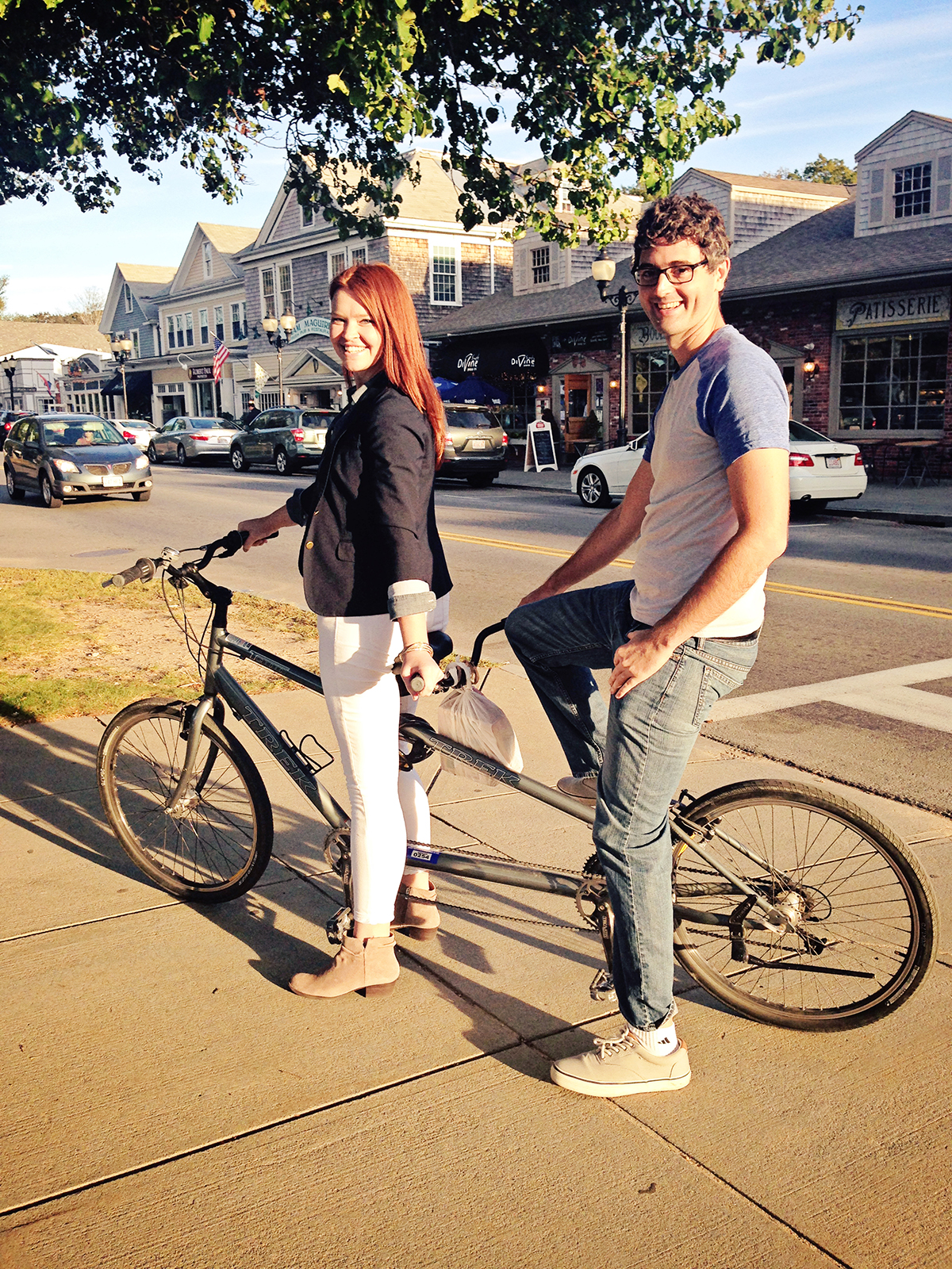 The Explorer's Edit | Tandem Bike Riding at Cape Cod