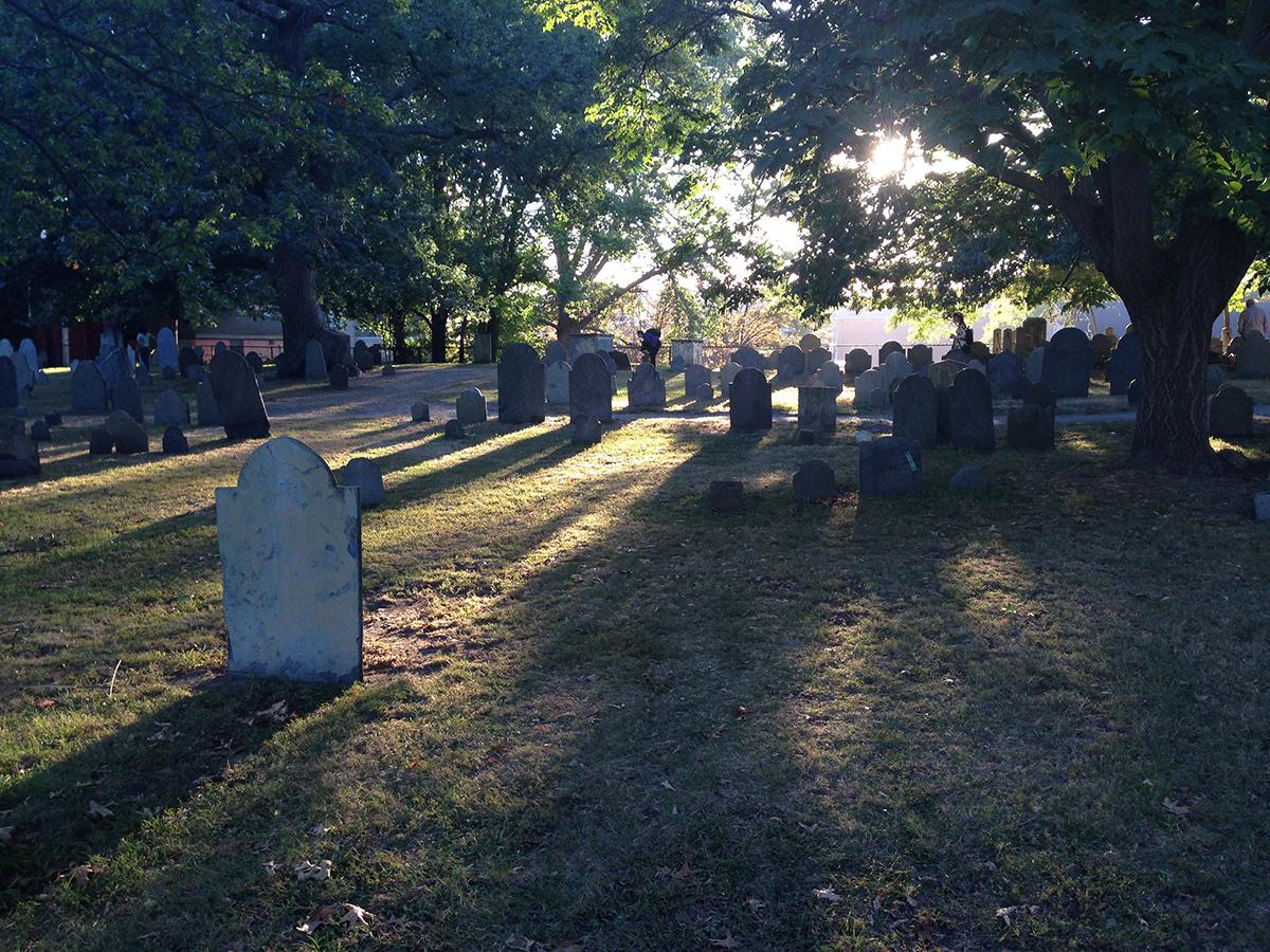 The Explorer's Edit - Salem Cemetery